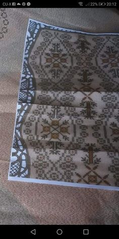 Cross Stitching, Blackwork, Cross Stitch Patterns, Diy And Crafts, Bohemian Rug, Projects To Try, Embroidery, Rugs, Crochet
