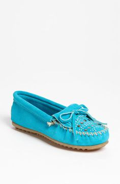 Minnetonka Studded Kiltie Moccasin available at Nordstrom-Just got these and can't wait to wear them.  I will have such happy feet!