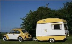 I would love a trailer I could pull with a bug!
