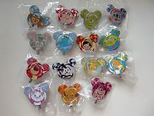Disney Pin - HKDL - 2017 Lollipop Mystery Tin Collection (Complete 15 pins)