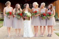 Rustic Winter Farm Wedding