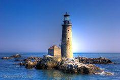 Graves Light, Massachusetts Bay, Massachusetts