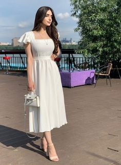 Beautiful Casual Dresses, Classy Dress, Stylish Dresses, Simple Dresses, Elegant Dresses, Cute Dresses, Modest Outfits, Cute Casual Outfits, Pretty Outfits