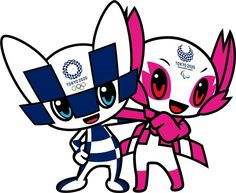 News - Tokyo 2020 unveil Olympic mascots Olympic Logo, Olympic Mascots, Olympic Games, Japan Olympics 2020, Olympics News, Nagano, Huayra, Olympic Crafts, Olympic Gymnastics