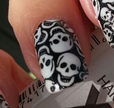 Hey, I found this really awesome Etsy listing at https://www.etsy.com/listing/163225170/tiny-skulls-nail-art-decals-full-nail