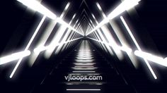 Triangle Tunnel #animation #3D #motiongraphics #abstract #blackandwhite
