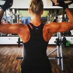 #biceps #bicepsday #traininsane #lovingit!