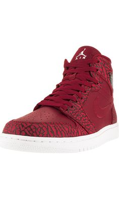 Nike Jordan Mens Air Jordan 1 Retro High Basketball Shoe Gym Red/White/Team Red/White 10 D(M) US Best Price