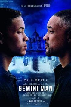 Gemini Man is a new action-thriller starring Will Smith as Henry Brogan, an elite assassin, who is suddenly targeted and pursued by a mysterious young [. Clive Owen, Mary Elizabeth Winstead, Man Movies, Movies To Watch, Good Movies, Movies Free, Will Smith, Toy Story, Ip Man