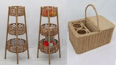 Jute Crafts, Bamboo Furniture, Macrame Knots, Bottle Art, Sisal, Storage Baskets, Reuse, Craft Ideas, Crafty