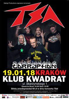 Galeria zdjęć z koncertu 4 Szmery w Krakowie-> http://www.heavymetalandmore.pl/2018/01/4-szmery-w-krakowie-galeria.html