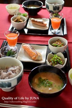 Easy Japanese breakfast