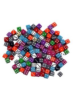 Little Guys Opaque 5Mm | Playing Dice | Gamblers General Store