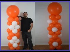 Learn how to make a balloon column with flower and diamond shape Balloon decoration tutorial. This part 3 of the balloon column series. Balloon Tower, Balloon Stands, Balloon Display, Balloon Backdrop, Balloon Centerpieces, Balloon Decorations, Balloon Ideas, Mini Balloons, Balloons And More