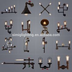 Vintage Industrial Retro Design Water Pipe Black Wall Lamp With E27 Edison Bulb , Find Complete Details about Vintage Industrial Retro Design Water Pipe Black Wall Lamp With E27 Edison Bulb,Wall Lamp,Water Pipe Wall Lamp,Industrial Wall Lamp from Wall Lamps Supplier or Manufacturer-Shenzhen Simig Lighting Co., Ltd.