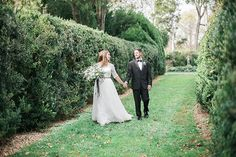 Oatlands Historic House & Gardens- November 2014; Swooned Magazine; bride and groom portrait; Lissa Ryan Photography.
