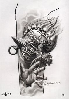 Татуировка Тату Книги Видео Tattoo Books Video | VK Buddha Tattoo Design, Japan Tattoo Design, Chicano Tattoos Sleeve, Leg Tattoos, Body Art Tattoos, Demon Tattoo, Real Tattoo, Tattoo Goo, Modern Tattoos