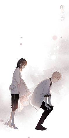 Anime Love Story, Anime Love Couple, Real Anime, Cool Anime Guys, Anime Chibi, Manga Anime, Wallpaper Wa, Romantic Anime Couples, Cute Anime Coupes