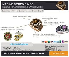 Whether you are active or retired, you maybe entertaining the idea of getting a new ring, just have a look here @U.S. Marines @USMCArchives  BUY YOUR RING TODAY - GO TO https://www.militaryonlineshopping.com/store/home.php?cat=160 for all the details