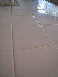 baking soda hydrogen peroxide clean tile grout Cleaning Tips