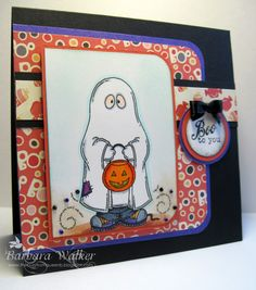 Boo to You featuring Little Ghost Kid, a digital stamp from #Meljen's Design