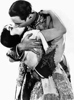"Pola Negri and Rod La Rocque ~ in ""Forbidden Paradise"" 1924..."