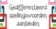 Juf-Stuff: Keuzemenu spelling