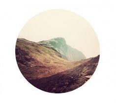 circles, graphic, mountains, marco suarez, art