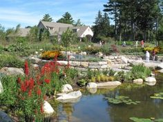 """Coastal Maine Botanical Gardens - Boothbay Harbor, Maine (this site has several """"must do's"""" in this area)"""