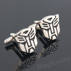 Mens Cufflinks Transformer Cufflinks Autobot by BingJewelry ✿ ☺ ☺