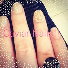 Beauty: nail trends ~ caviar nails