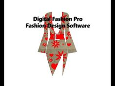 Digital Fashion Pro Fashion Design Software Video - Design Dress & Fabric