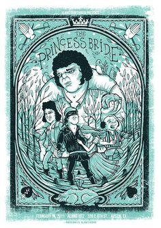 The Princess Bride - Drew Millward