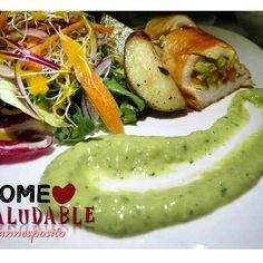 •MILANESA RELLENA de vegetales • PAPAS rostizadas • MEZCLUM DE LECHUGA zanahoria, cebolla morada, alfalfa. •ADEREZO miel mostaza • CREMA DE AGUACATE  #saludableenlacocina #comesaludable #cocinasano #cocinasaludable #comebien #almuerzosaludable #cocina #cuisine #cocinero #chef #cucina #cucinasano #instagood #instadaily #igersoftheday#food #foodporn #instafood #instagood #photooftheday #lunch #fresh #tasty #foodie #delish #eating #foodpic #eat #hungry #foods #foodgasm