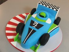 Cade's race car by Sweet Treacle, via Flickr