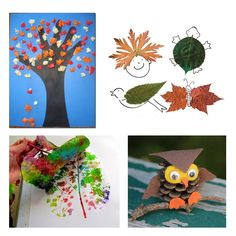 new blog post: a few easy and fun fall crafts for kids! http://babyglitter.com/blog/fall-crafts-for-kids/