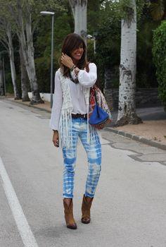 mytenida /// Chaleco/vest: Buylevard (AQUÍ). Camisa/shirt: H&M. Jeans: Zara (taras). Botines/booties: Capriche Alicante. Cinturón/belt: Lefties. Bolso/handbag: David by Ros (AQUÍ).