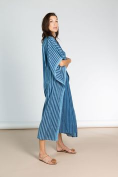 Chic handwoven kaftans, dresses and tunics in gorgeous textiles