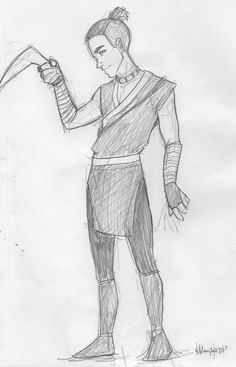 so sketchy! GAH! anyway, for my warm-up and warm-down sketching, all i can seem to draw is AVATAR. IT'S TAKING OVER MY MIND. sokka belongs to nickelodeon.... is that spelled right?