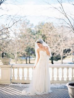 Photography: Winsome and Wright - winsomeandwright.com/ Wedding Dress: Karen Willis Holmes - http://www.karenwillisholmes.com/   Read More on SMP: http://stylemepretty.com/vault/gallery/58477