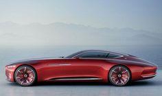 Купе Vision Mercedes-Maybach 6 / Видение Мерседес-Майбах 6 – вид сбоку