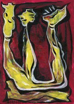 "Saatchi Art Artist Maria Marachowska; Painting, ""3"" #art"