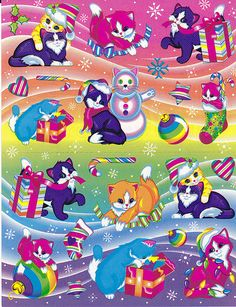 Lisa Frank Christmas | Nicole | Flickr