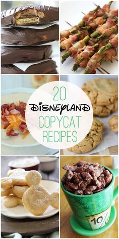 Copycat Recipes 20 Disneyland Copycat Recipes - now you can have all of your Disneyland favorites without having to make the trip! { Disneyland Copycat Recipes - now you can have all of your Disneyland favorites without having to make the trip! Dole Whip Recipe, Yummy Treats, Yummy Food, Disneyland Food, Disneyland Paris, Copykat Recipes, Cooking Recipes, Healthy Recipes, Disney Food Recipes