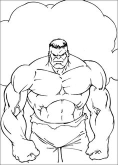18 Best Hulk Disegni Da Colorare Images Coloring Pages For Kids