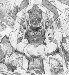 Galactus by Olivier Coipel *