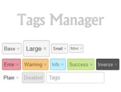 tag manager a jquery plugin to create tag input fields which works nicely with - Org Chart Jquery