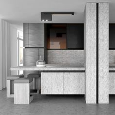 Signature Kitchen by Belgian Architect Glenn Sestig and Obumex - picture by Jean-Pierre Gabriel