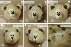 Bear brooch OOAK by Pookysworld on Etsy, $8.00