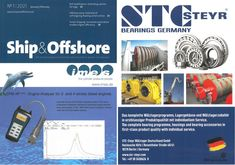 STC-Steyr in the current issue of ship an offshore Offshore Wind, Steyr, Problem Solving, Wind Turbine, Austria, Engineering, Germany, Ship, Deutsch